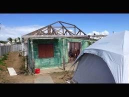 Maison sinistrée Saint-Martin