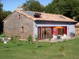 Maison terre paille, Larzac