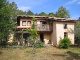 Maison terre paille- St Félix-de-Pallières (Gard)