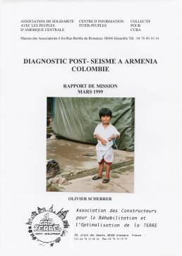 Diagnostic post-séisme à Armenia, Colombie