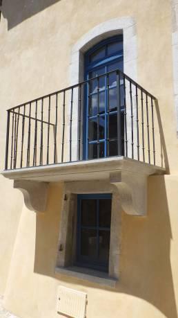 Restauration façade maison ancienne Sauve (Gard)